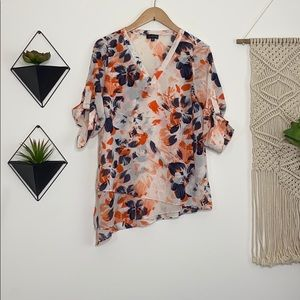 The Limited Floral Layered Blouse